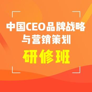 [北丰商学院]中国CEO品牌战略与营销策划研修班