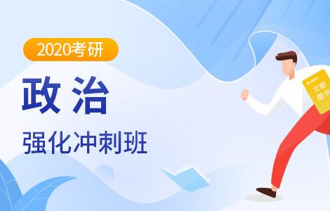 【文都网校】2020考研(政治)强化冲刺新大纲班