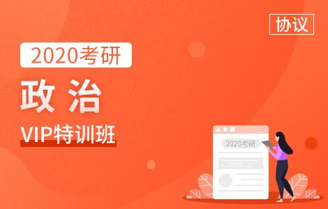 【文都网校】2020考研(政治)VIP特训班